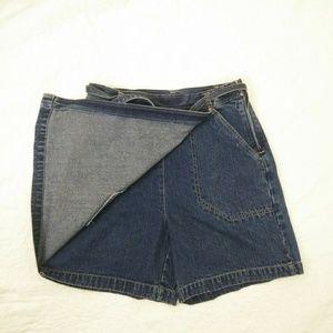 Dresses & Skirts - Bill Blass Jeans Denim Skort